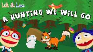A HUNTING WE WILL GO nursery rhyme - nursery rhymes for children in english with action [Video]