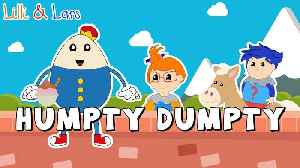 HUMPTY DUMPTY SAT ON A WALL  song lyrics | nursery rhymes for children humpty dumpty | Toddlers [Video]