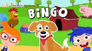 B-I-N-G-O Sing Along Song:  nursery rhymes songs for children with lyrics [Video]