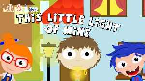 This Little Light of Mine | Lyric Video for Kids | Children's Sing Along Songs [Video]