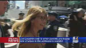 Lori Loughlin, Other Parents Face New Charges In College Admissions Scandal [Video]