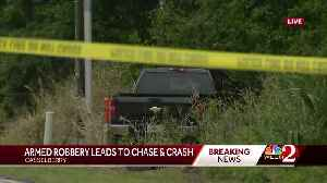 Armed robbery leads to chase, crash in Casselberry [Video]