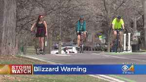 Summer-Like Temperatures Precede Threat Of Blizzard [Video]