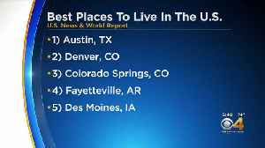 Denver, Colorado Springs Named As Some Of The Best Cities To Live [Video]