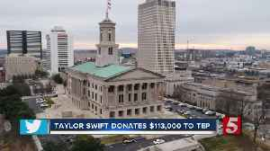 Taylor Swift donates $113,000 to Tennessee Equality Project