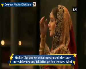 Madhuri Dixit mesmerises fans with her performance in Tabah Ho Gaye [Video]
