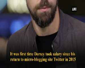 Twitter CEO Jack Dorsey got paid USD 1.40 in salary last year [Video]