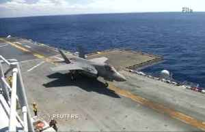 Japanese F-35 jet crashes into the Pacific