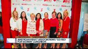 'Go Red for Women Luncheon' in Palm Beach Gardens on Thursday [Video]