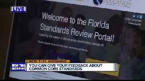 SURVEY: Give your feedback on Florida education standards [Video]