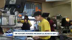 Tim Hortons Rewards coming to WNY - TODAY! [Video]