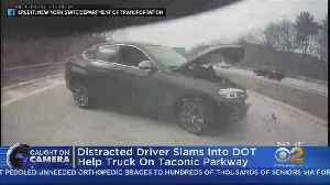 Distracted Driving Crash On Camera [Video]