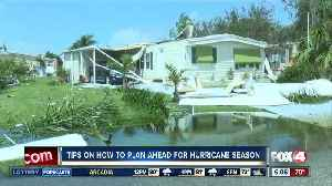 Tips on planning for Hurricane Season [Video]