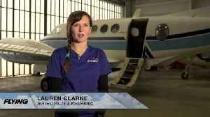 News video: Lauren Clarke, Airtec Pilot and Aircraft Mechanic
