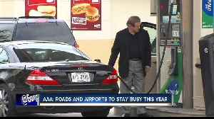AAA: Roads and airports to stay busy this year [Video]