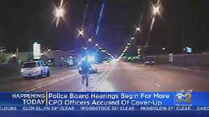 Police Board To Decide Fate Of 4 Officers Accused Of Cover-Up In Laquan McDonald Shooting [Video]