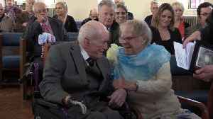 Two 97-year-old blind veterans find love again [Video]