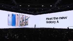 Samsung launches the Galaxy A80 and A70 [Video]