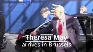 Theresa May calls for more time to finalise Brexit with EU leaders [Video]