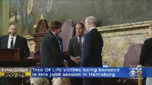Tree Of Life Shooting Victims Being Honored In Harrisburg [Video]