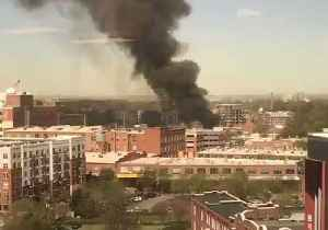 Smoke Rises Over Downtown Durham After Gas Explosion [Video]
