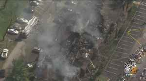 Crews Battle Fire At Apartment Complex In McCandless [Video]