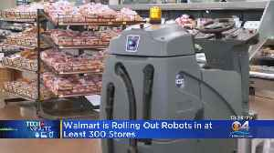 Walmart To Deploy Robots [Video]