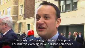Irish Taoiseach Leo Varadkar open to Brexit extension [Video]
