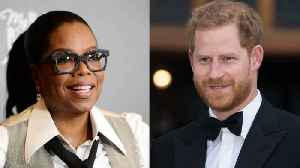 Prince Harry and Oprah Winfrey to Collaborate on New Mental Health Series [Video]