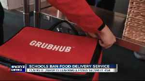 Principal tells students to stop food deliveries during lunch hour at West Bloomfield High School [Video]