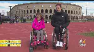 Boston Marathon Champion Tatyana McFadden's Unbreakable Bond With A Young Wheelchair Athlete [Video]