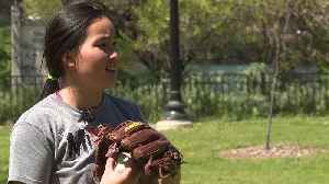 11-Year-Old Girl Takes Step Toward Professional Baseball Dream [Video]