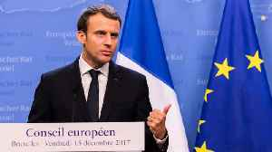 Macron Pushes Back Against Brexit Delay [Video]