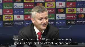 Ole Gunnar Solskjaer believes Camp Nou win would be greater than comeback against PSG [Video]