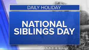 Daily Holiday - National siblings day [Video]