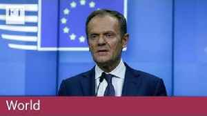 Donald Tusk pushes back Brexit cliff edge [Video]