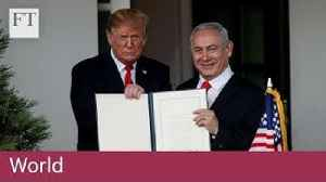 Trump recognises Israel's sovereignty over Golan Heights [Video]