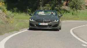 The new BMW M850i xDrive Convertible Driving Video [Video]