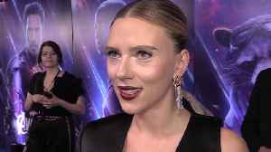 Scarlett Johansson: 'Black Widow is more vulnerable than I thought' [Video]