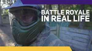When battle royale and reality collide you get this...