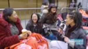 BTS Fans Camp Out Ahead of Band's 'SNL' Performance | Billboard News [Video]