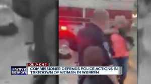 Warren Police Commissioner defends officer in viral arrest video [Video]
