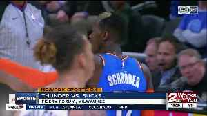 OKC Thunder hit franchise-record 23 3-pointers, beat Milwaukee Bucks, 127-116 [Video]