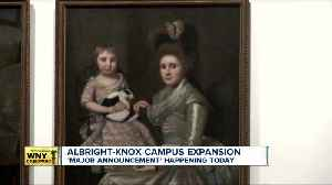 The Albright-Knox Art Gallery says it's making a major announcement Thursday [Video]