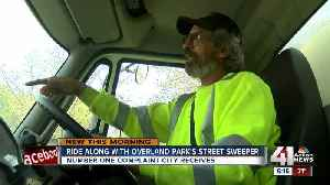 When will the street sweeper hit my block in Overland Park? [Video]