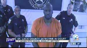 St. Lucie County deputy Thomas Johnson appears in court following sexual assault arrest [Video]