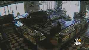 Surveillance Video Shows Driver Slamming Into Mansfield Bakery [Video]