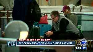 Hundreds of flights canceled as storm moves in [Video]
