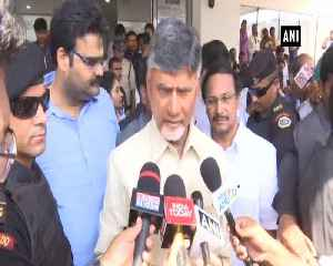 CM Naidu slams IT Dept PM Modi for one sided raids on TDP leader [Video]