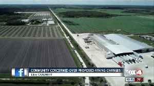 Community concerned over proposed lime rock mining changes [Video]